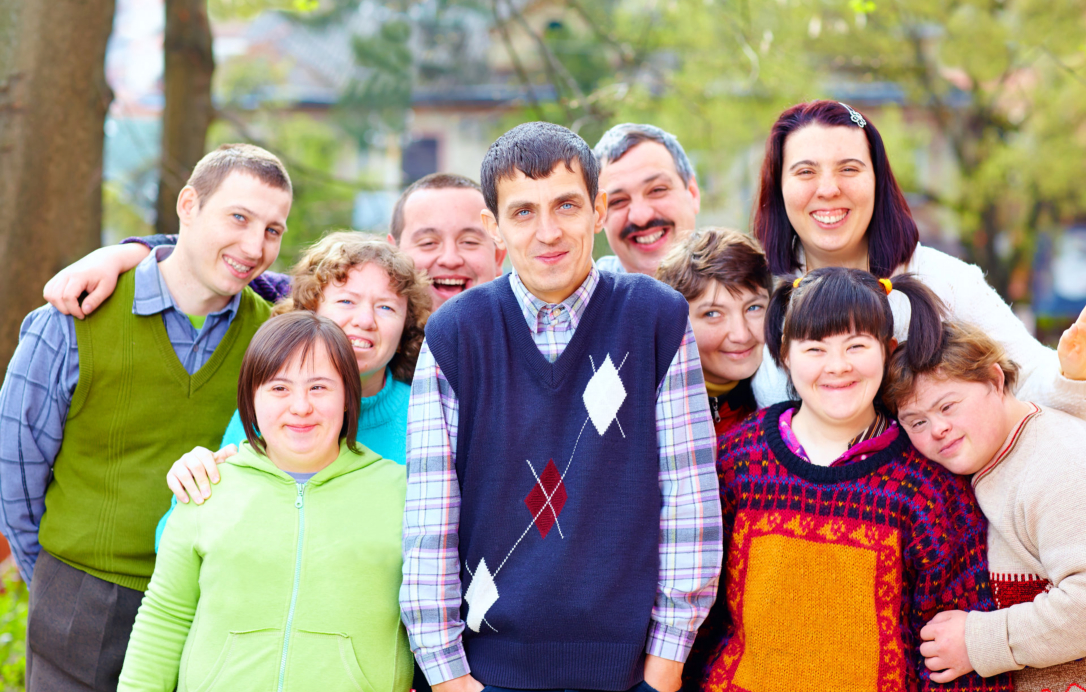 group of person with disabilities